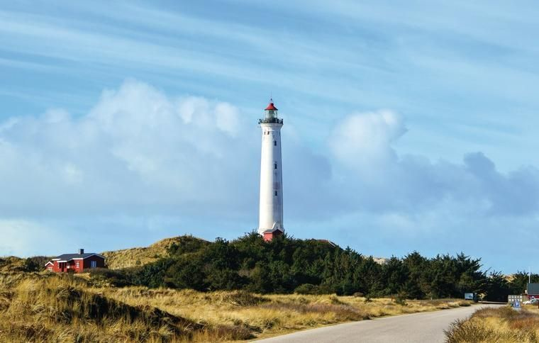 Vuurtoren in West-Jutland